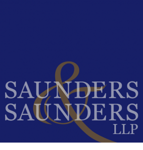 Saunders and Saunders logo design, mark medeiros