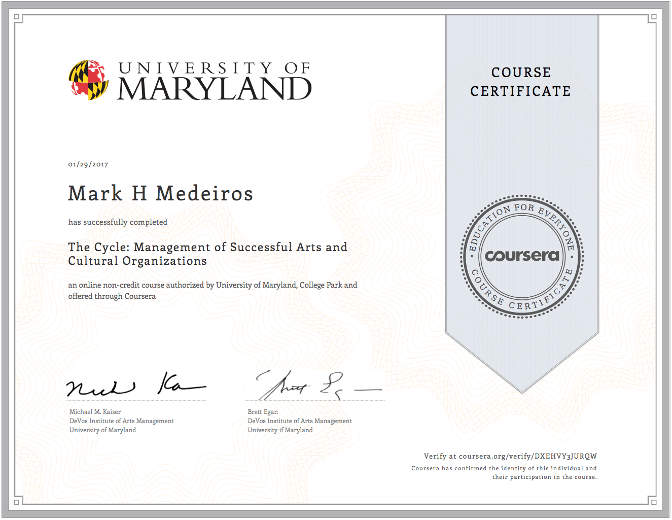 Arts And Cultural Organizational Management Mark